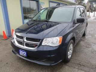 Used 2012 Dodge Grand Caravan FAMILY MOVING SE MODEL 7 PASSENGER 3.6L - V6.. CAPTAINS.. STOW-N-GO.. CD/AUX INPUT.. POWER WINDOWS.. for sale in Bradford, ON