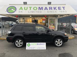 Used 2005 Mitsubishi Outlander Limited AWD YOU WORK/YOU DRIVE! for sale in Langley, BC