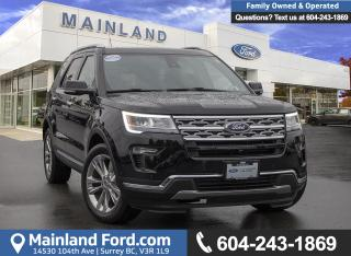 Used 2018 Ford Explorer Limited *ACCIDENT FREE* * LOCALLY DRIVEN* for sale in Surrey, BC