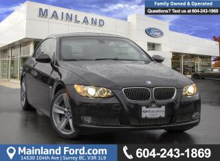 Used 2008 BMW 335i *ACCIDENT FREE* * LOCALLY DRIVEN* for sale in Surrey, BC