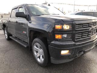 Used 2015 Chevrolet Silverado 1500 2LZ Wow! Absolutely Loaded! Heated Steering and Seats, DVD, Sunroof, Leather and more! for sale in Kemptville, ON