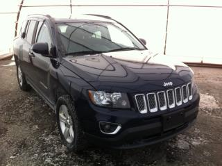 Used 2017 Jeep Compass Sport/North REMOTE VEHICLE STARTER, SUNROOF, LEATHER HEATED SEATS, POWER SEAT for sale in Ottawa, ON