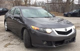 Used 2010 Acura TSX LEATHER - SUNROOF - CERTIFIED for sale in Toronto, ON