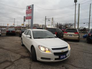 Used 2010 Chevrolet Malibu AUTO, Aux, REMOTE ENGINE START, HEATED FRONT SEATS for sale in Oakville, ON