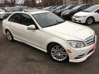 Used 2011 Mercedes-Benz C-Class C 300/ 4MATIC/ POWER GROUP/ PEARL WHITE/ ALLOYS! for sale in Scarborough, ON