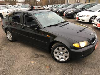 Used 2004 BMW 3 Series 320i/ AUTO/ LEATHER/ SUNROOF/ ALLOYS/ FULLY LOADED for sale in Scarborough, ON