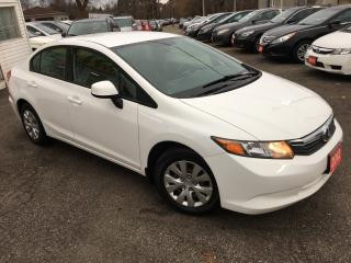 Used 2012 Honda Civic LX/ AUTO/ POWER GROUP/ ECO MODE/ LOADED! for sale in Scarborough, ON