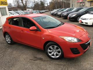 Used 2010 Mazda MAZDA3 GX/ 5 SPEED/ POWER GROUP/ SPOILER! for sale in Scarborough, ON