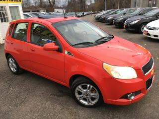 Used 2009 Chevrolet Aveo LT/ AUTO/ SUNROOF/ POWER GROUP/ ALLOYS! for sale in Scarborough, ON
