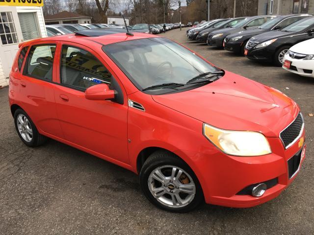 2009 Chevrolet Aveo LT/ AUTO/ SUNROOF/ POWER GROUP/ ALLOYS!