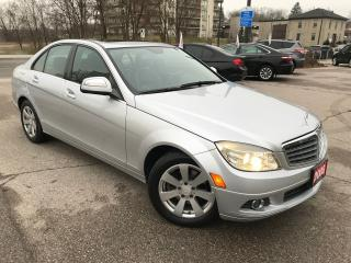 Used 2008 Mercedes-Benz C-Class 2.5L|C-320|NO ACCIDENT|LOW MILEAGE for sale in Cambridge, ON