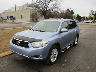 Used 2008 Toyota Highlander Hybrid LIMITED~NAV.~LEATHER~DVD~CERTIFIED for sale in Toronto, ON