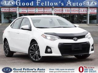 Used 2016 Toyota Corolla S MODEL, SUNROOF, REARVIEW CAMERA, HEATED SEATS for sale in Toronto, ON