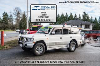 Used 1997 Mitsubishi Pajero 4x4 RHD JDM, Loaded, 160k, No Accidents, Clean! for sale in Surrey, BC