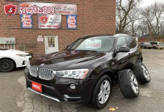 Used 2015 BMW X3 DIESEL/4WD/ONE OWNER/NO ACCIDENT/WARRANTY INCL for sale in Cambridge, ON