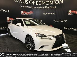 Used 2016 Lexus IS 350 F Sport Series 3 for sale in Edmonton, AB