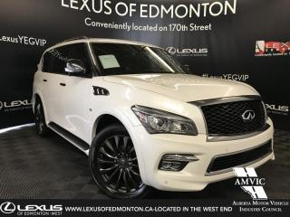 Used 2017 Infiniti QX80 Limited for sale in Edmonton, AB