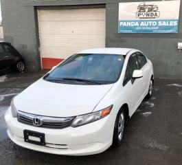 Used 2012 Honda Civic 4dr Man LX for sale in Gloucester, ON
