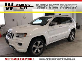 Used 2014 Jeep Grand Cherokee Overland|LEATHER|NAVIGATION|MOONROOF|81,188 KM for sale in Cambridge, ON