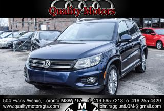 Used 2015 Volkswagen Tiguan COMFORTLINE for sale in Etobicoke, ON