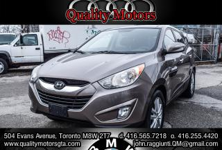 Used 2010 Hyundai Tucson Limited w/Navigation for sale in Etobicoke, ON