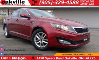 Used 2011 Kia Optima LX | GREAT VALUE | HEATED SEATS | SUNROOF for sale in Oakville, ON
