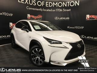 Used 2016 Lexus NX 200t F SPORT SERIES 2 for sale in Edmonton, AB