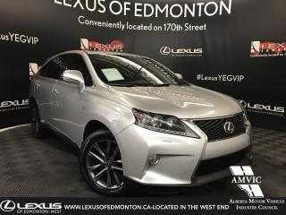 Used 2013 Lexus RX 350 F Sport Package for sale in Edmonton, AB