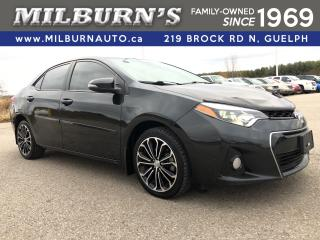 Used 2014 Toyota Corolla S PREMIUM for sale in Guelph, ON