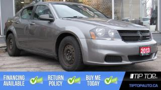 Used 2013 Dodge Avenger Base ** Sunroof, Winter Tires and Rims, One Owner for sale in Bowmanville, ON