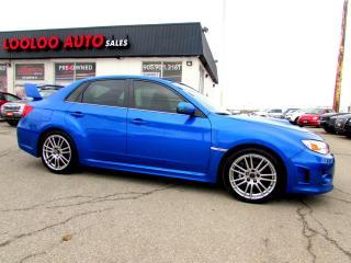 Used 2013 Subaru Impreza WRX STi STI SPORT-TECH TURBO AWD 6 SPEED BLUETOOTH CERTIFI for sale in Milton, ON