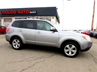Used 2010 Subaru Forester 2.5X Premium AWD 5 SPD PANORAMIC SUNROOF CERTIFIED for sale in Milton, ON