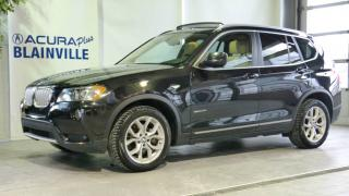 Used 2013 BMW X3 2.8L ** AWD ** for sale in Blainville, QC
