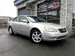 Used 2003 Nissan Altima Berline 4 portes, 3,5 SE, boîte automati for sale in Longueuil, QC
