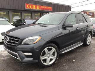 Used 2015 Mercedes-Benz ML-Class ML350 BLUETEC AWD for sale in Laval, QC