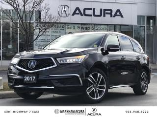 Used 2017 Acura MDX Navi SH-AWD, Backup Cam, BSM, Pwr Trunk for sale in Markham, ON