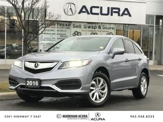 Used 2016 Acura RDX Tech at -AWD, Pwr Trunk, Lane Dep, Navi, Heated Sts for sale in Markham, ON