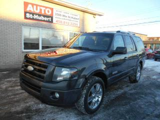 Used 2007 Ford Expedition LIMITED 4X4 ** 8 PASS ** for sale in St-Hubert, QC