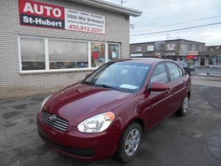 Used 2010 Hyundai Accent GL ** 87 000 KM ** for sale in St-Hubert, QC