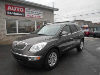 Used 2008 Buick Enclave CX ** 7 PASSAGER ** for sale in St-Hubert, QC