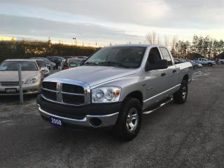 Used 2008 Dodge Ram 1500 SXT Quad Cab Long Bed 4WD for sale in Newmarket, ON