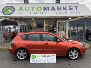 Used 2004 Mazda MAZDA3 SPORT SUNROOF 5-Door YOU WORK/YOU DRIVE! for sale in Langley, BC