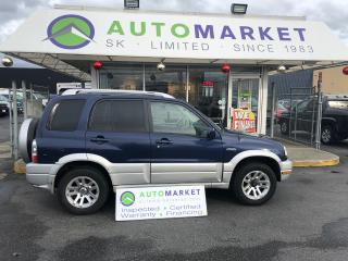 Used 2005 Suzuki Grand Vitara LX 4WD YOU WORK/YOU DRIVE! for sale in Langley, BC