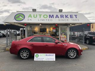 Used 2008 Cadillac CTS 3.6L SIDI with Navigation for sale in Langley, BC
