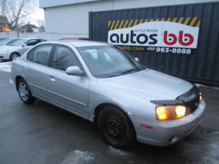 Used 2002 Hyundai Elantra 4dr Sdn GL Auto for sale in Laval, QC