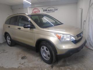 Used 2009 Honda CR-V LX for sale in Ancienne Lorette, QC