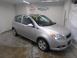 Used 2009 Chevrolet Aveo 5 LT for sale in Ancienne Lorette, QC