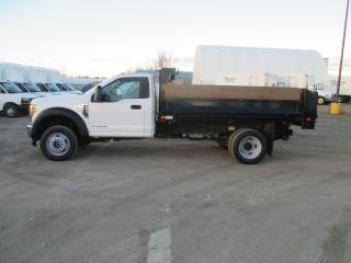 Used 2017 Ford F-550 XL,SUPER DUTY.REG,CAB WITH 11 FT.DEL STEEL DUMP BO for sale in London, ON