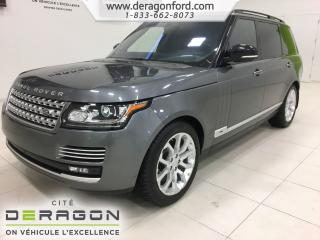 Used 2016 Land Rover Range Rover V8 for sale in Cowansville, QC
