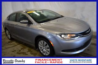 Used 2016 Chrysler 200 for sale in Granby, QC